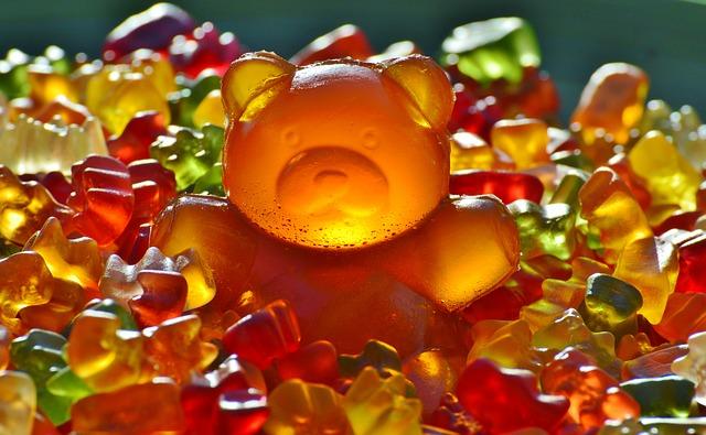 gumové bonbíčka