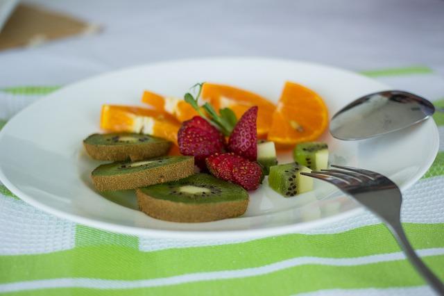 talíř ovoce