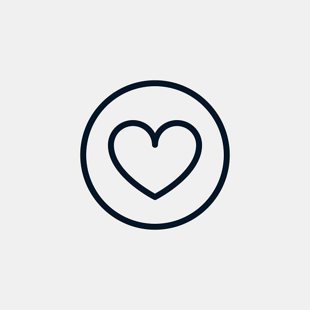 srdce v kolečku