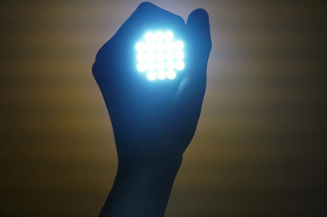 ostré světlo