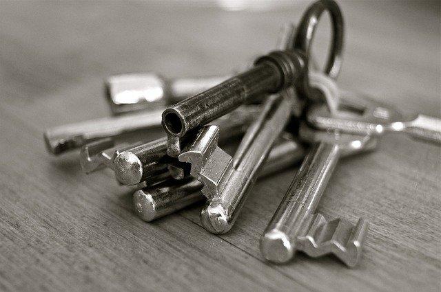 vstupní klíče