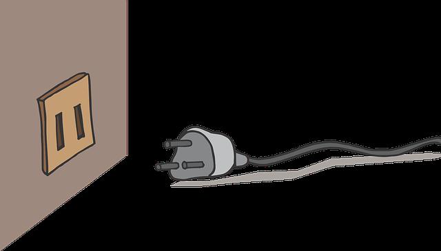 vytažený kabel