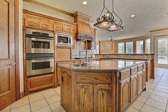 prostorná kuchyň