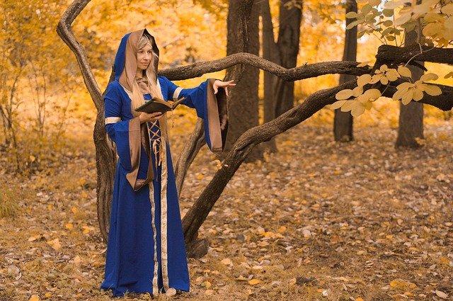 čarodějnice v lese