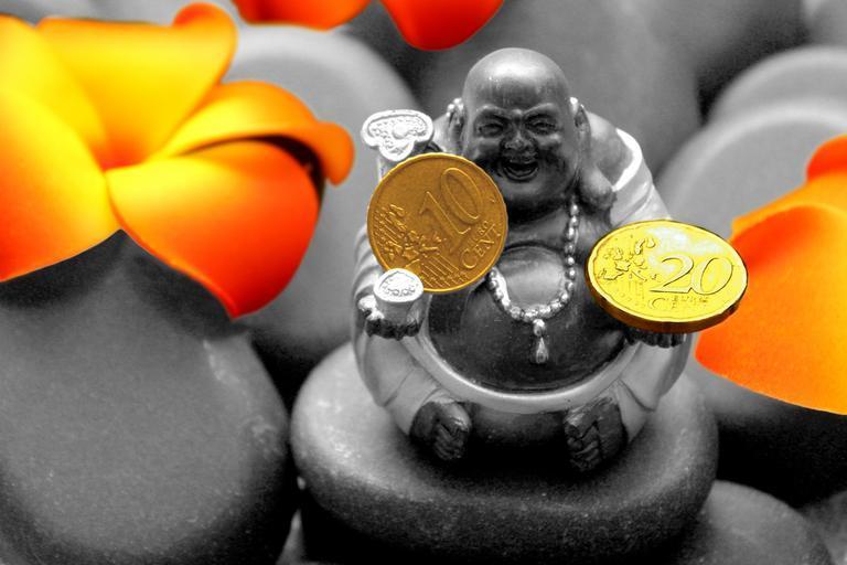 Buddha a peníze